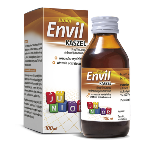 Envil kaszel junior 0,015g/5 ml syr.100 ml