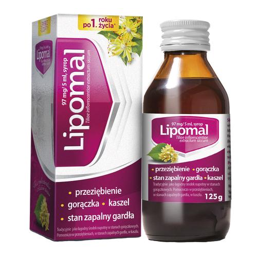 Lipomal syrop 125g(but.)
