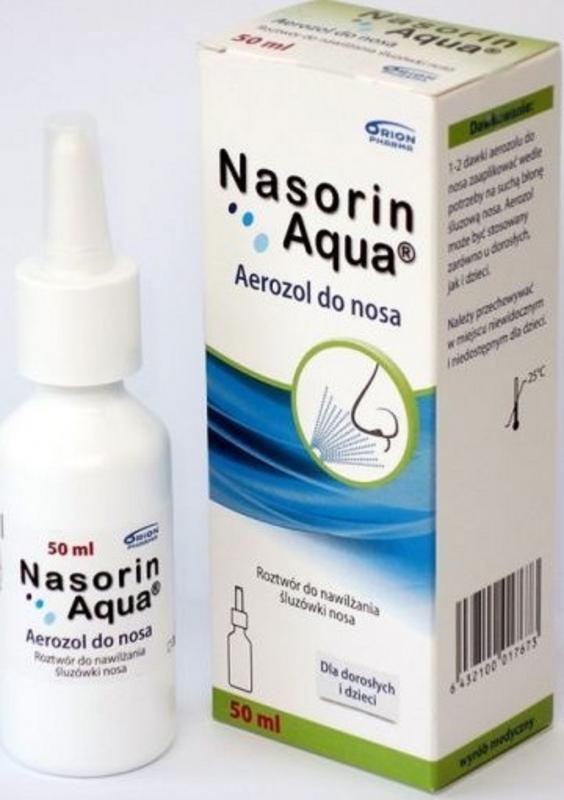 Nasorin Aqua aer.do nosa 50 ml