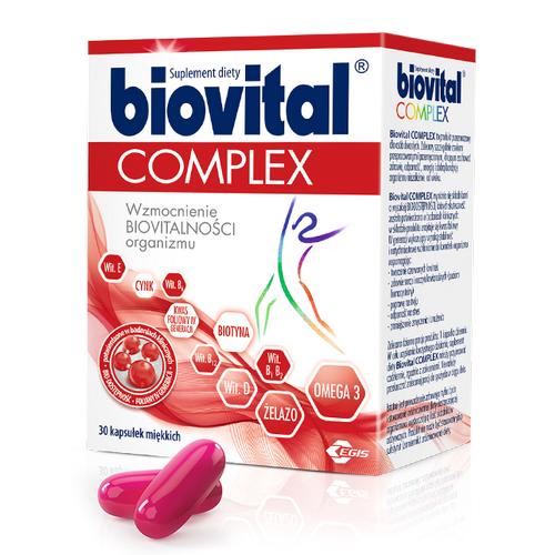Biovital Complex kaps.miękkie 30 kaps.