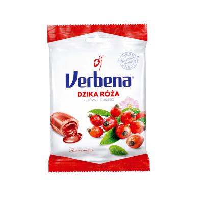 Cukierki VERBENA Dzika róża z vit C 60g