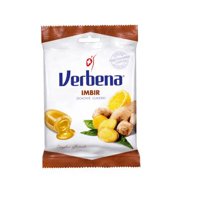 Cukierki VERBENA Imbir 60 g