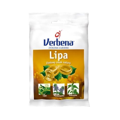 Cukierki VERBENA Lipa zioł.z vit C 60 g