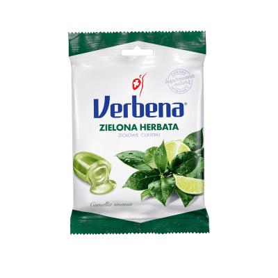 Cukierki VERBENA Zielona Herbata 60g
