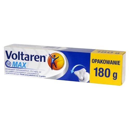 Voltaren Max żel 0,0232 g/g 180 g (tuba) | Apteka internetowa, antyperspirant, avent, bioderma, bioliq, canpol, cera trądzikowa preparaty, dermokosmetyki, geriavit, grzybica leki bez recepty, himalaya, kreon, leki bez recepty, leki na grypę, leki na przeziębienie, leki na uspokojenie, mascara med., maxigra go, maxon, mensil, mugga, mustela, odchudzanie leki, odporność, pirolam, tabletki na ból gardła, test ciążowy, tran mollers, vichy, witamina d, wszy preparaty, zapalenie stawów, zestawy kosmetyków, ziaja