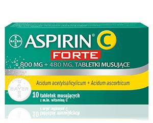 ASPIRIN C FORTE tabl.mus. 0,8g+0,48g 10tab