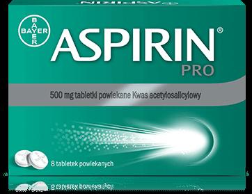 Aspirin Pro tabl.powl. 0,5 g 8 tabl.