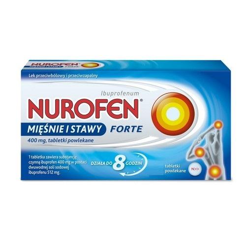 Nurofen Mięśnie i Stawy Forte 0,4g 12tabl.