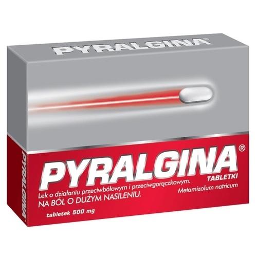 Pyralgina tabl. 0,5 g 20 tabl.