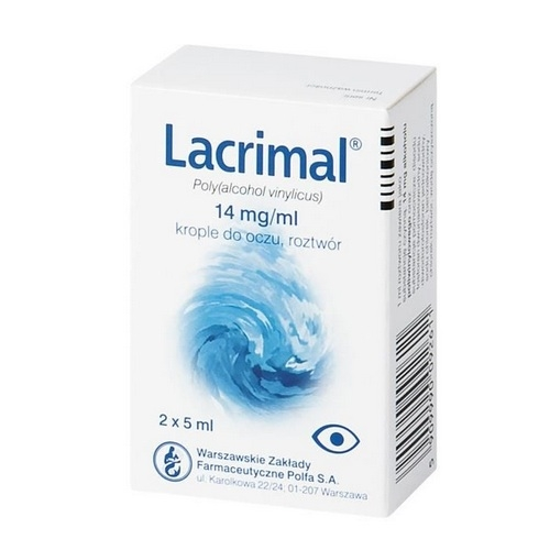 Lacrimal krop.do oczu 0,014 g/1ml 2 x 5ml