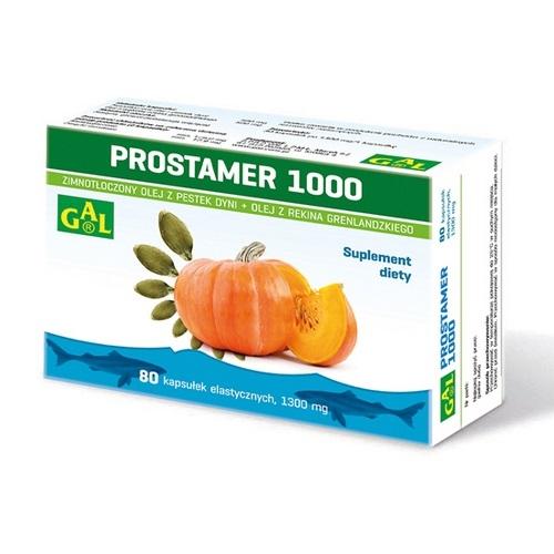 Prostamer 1000 kaps.elast. 80 kaps.