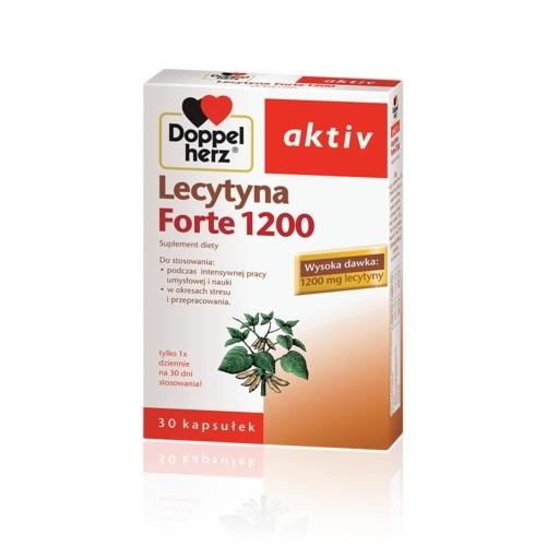 Doppelherz Activ Lecytyna 1200 For.30 kap.