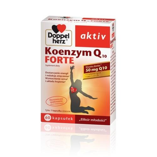 Doppelherz aktiv Koenzym Q10 Forte 60 kaps | Apteka internetowa, antyperspirant, avent, bioderma, bioliq, canpol, cera trądzikowa preparaty, dermokosmetyki, geriavit, grzybica leki bez recepty, himalaya, kreon, leki bez recepty, leki na grypę, leki na przeziębienie, leki na uspokojenie, mascara med., maxigra go, maxon, mensil, mugga, mustela, odchudzanie leki, odporność, pirolam, tabletki na ból gardła, test ciążowy, tran mollers, vichy, witamina d, wszy preparaty, zapalenie stawów, zestawy kosmetyków, ziaja