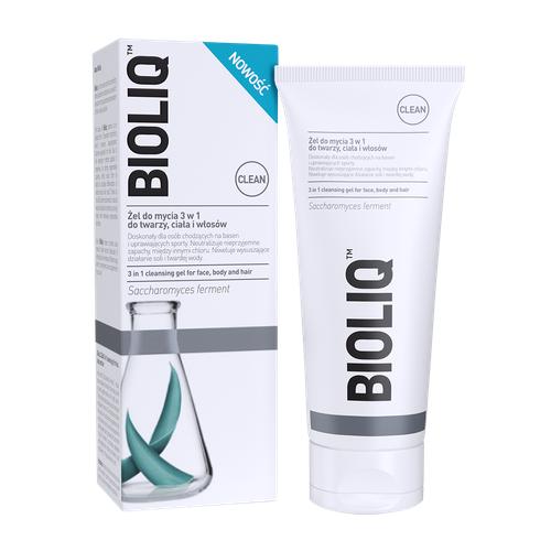 BIOLIQ CLEAN Żel d/myc.3w1 tw,cia,wł.180m