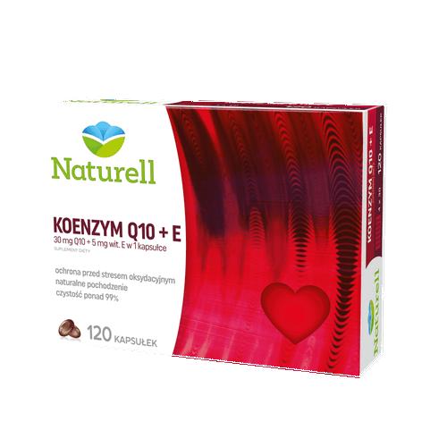 NATURELL Koenzym Q-10+E kaps. 0,03g 120kap