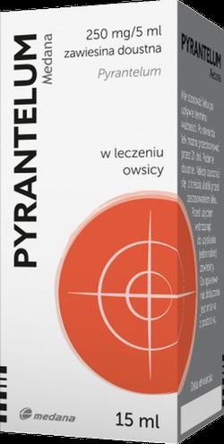 Pyrantelum zaw. 0.25 g/5ml 15 ml