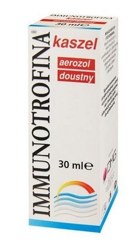 Immunotrofina kaszel aer.doustny 30 ml