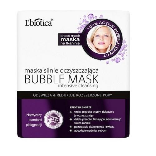 L'BIOTICA BUBBLE MASK Maska na tkanin1szt