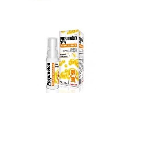 Pneumolan Spray na ból gardła 20 ml