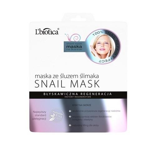 L'biotica Maska ze śluzem ślimaka 23ml