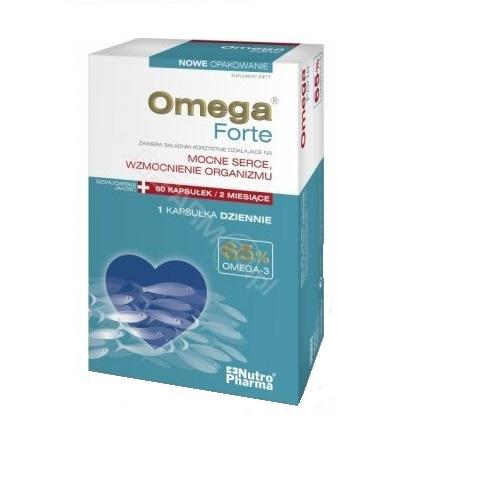 OmegaForte 65% omega-3 NutroPharma 60 kaps