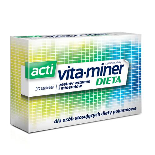 Acti Vita-miner Dieta tabl. 30 tabl.