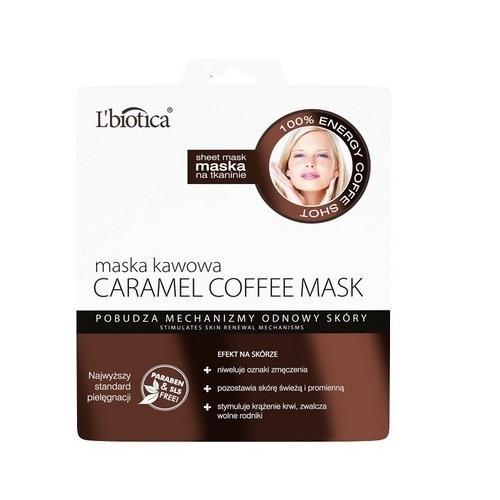 L'biotica Maska kawowa na tkaninie 23ml