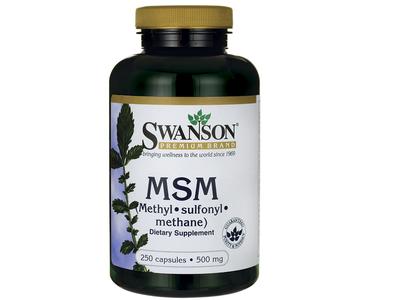 SWANSON MSM 500 mg 250 kaps.