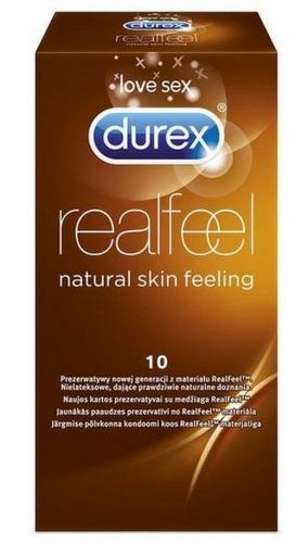 Prezerwatywy DUREX RealFeel 10 szt.