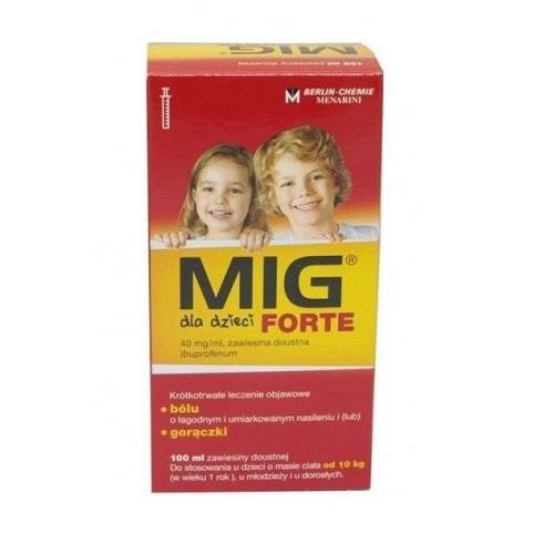 MIG Forte dzieci zaw.doust.0,04g/ml 100 ml