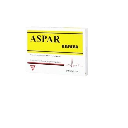 Aspar Espefa tabl. 0,017g+0,054g 50 tabl.