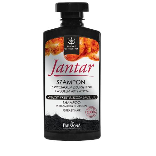 FARMONA JANTAR Szampon z węglem 330 ml