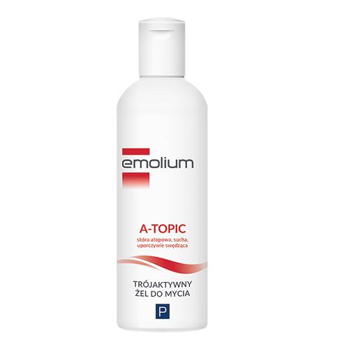 EMOLIUM A-TOPIC Trójakt. żel d/mycia 200ml