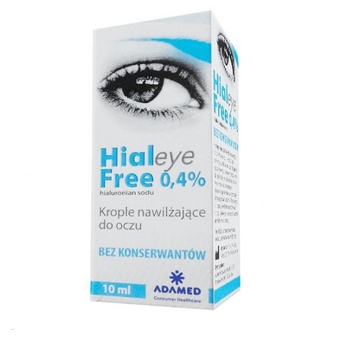 HIALEYE FREE 0,4% krop.do oczu 10 ml