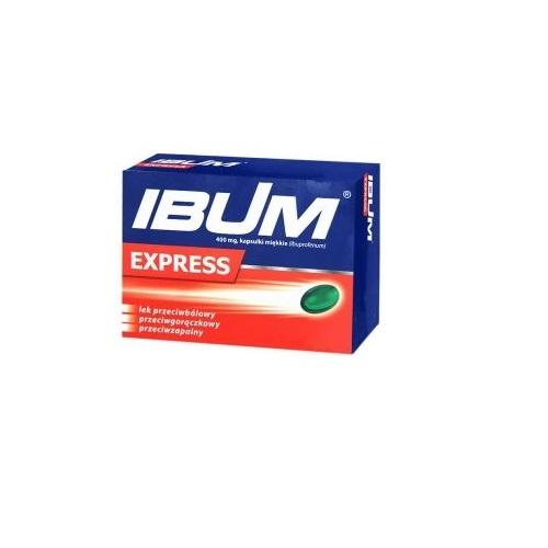 Ibum Express kaps.miękkie 0,4 g 6 kaps.