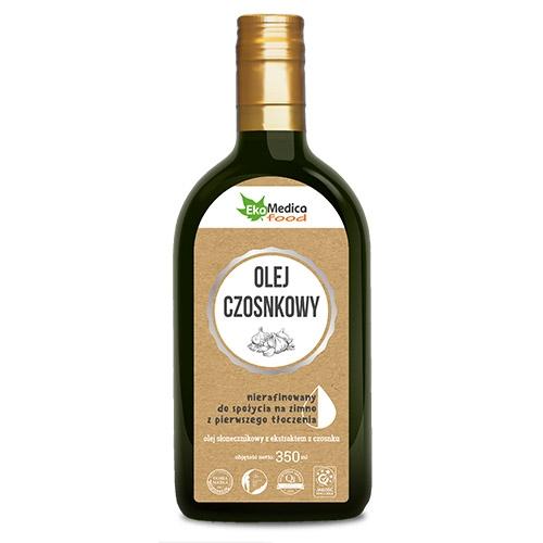 EkaMedica Olej czosnkowy 350 ml
