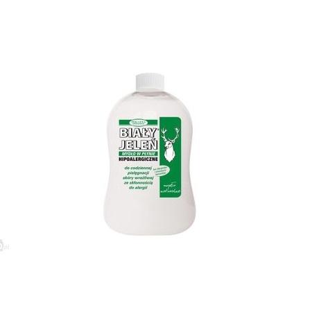 BIAŁY JELEŃ Mydło w płynie zapas 500 ml