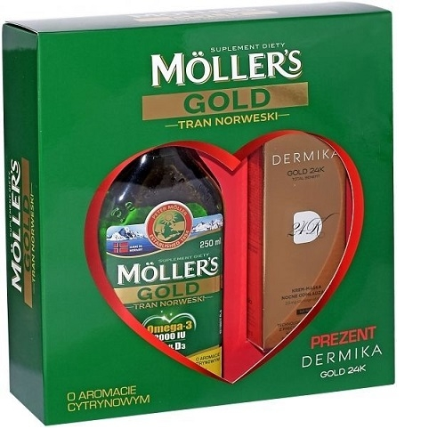 Tran MOLLERS Gold norw.+ Dermika Gold 250m