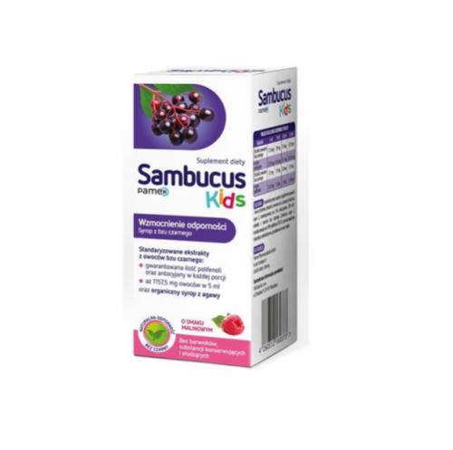 Sambucus Kids syrop 120 ml | Apteka internetowa, antyperspirant, avent, bioderma, bioliq, canpol, cera trądzikowa preparaty, dermokosmetyki, geriavit, grzybica leki bez recepty, himalaya, kreon, leki bez recepty, leki na grypę, leki na przeziębienie, leki na uspokojenie, mascara med., maxigra go, maxon, mensil, mugga, mustela, odchudzanie leki, odporność, pirolam, tabletki na ból gardła, test ciążowy, tran mollers, vichy, witamina d, wszy preparaty, zapalenie stawów, zestawy kosmetyków, ziaja