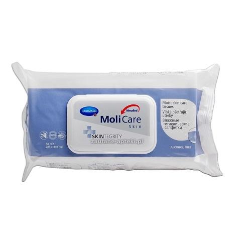 MoliCare Skin Chusteczki oczysz. 50 szt.