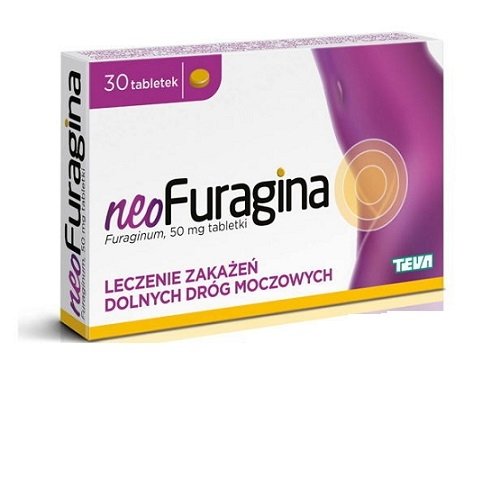 neoFuragina Max tabl. 0,1 g 25 tabl.
