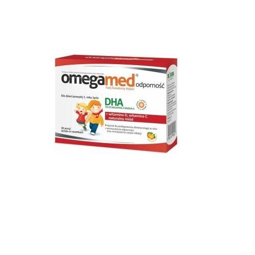 Omegamed Odporność 3+ Płyn 30 sasz.