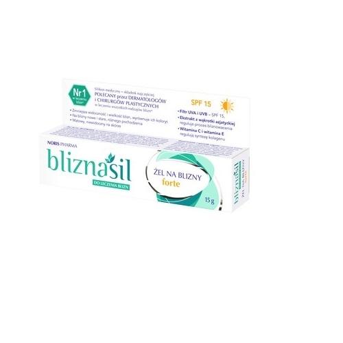 BLIZNASIL Żel na blizny forte 15g(tuba) | Apteka internetowa, antyperspirant, avent, bioderma, bioliq, canpol, cera trądzikowa preparaty, dermokosmetyki, geriavit, grzybica leki bez recepty, himalaya, kreon, leki bez recepty, leki na grypę, leki na przeziębienie, leki na uspokojenie, mascara med., maxigra go, maxon, mensil, mugga, mustela, odchudzanie leki, odporność, pirolam, tabletki na ból gardła, test ciążowy, tran mollers, vichy, witamina d, wszy preparaty, zapalenie stawów, zestawy kosmetyków, ziaja