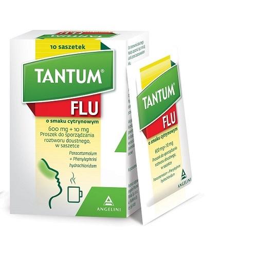 Tantum Flu sm.cytr.prosz.do rozt.10 sasz.