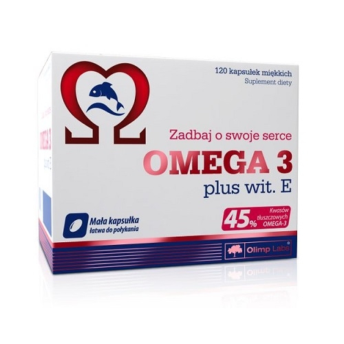 OLIMP OMEGA 3 plus wit. E kaps.120 kaps.