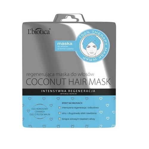 L'BIOTICA Maska-Czepek regen.kokos 30 ml