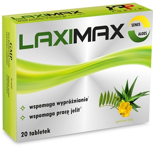 Laximax tabl. 20 tabl. (blister)