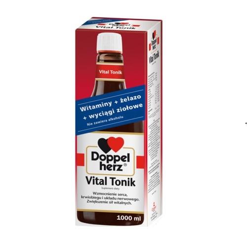 Doppelherz Vital Tonik (nakł.świąt.)1000ml