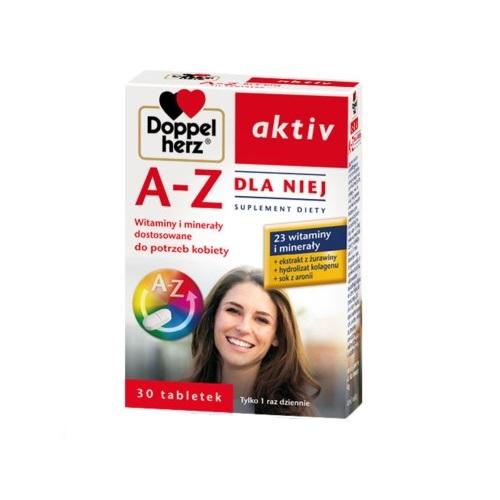 Doppelherz aktiv A-Z Dla Niej 30 tabl.