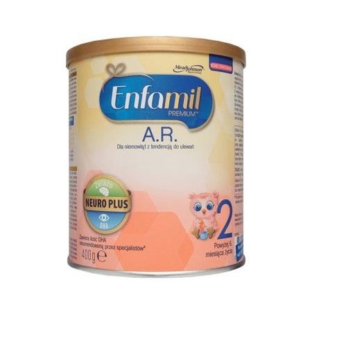 Mleko ENFAMIL PREMIUM AR 2 pow.6 mies.400g